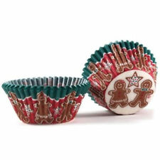 Christmas Gingreabread Boy & Girl Baking Cups 32 ct. #8828
