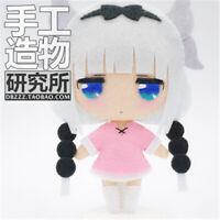DIY Miss Kobayashi's Dragon Maid Kanna Kamui Hanging Plush Doll Toy Keychain Bag