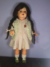 BAMBOLA Schildkröt Turtle Originale Doll Poupee Puppen  Vintage Antico