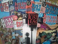 DC COMICS - JUSTICE LEAGUE AMERICA 1989 - VARIOUS ISSUES