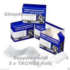 Truck HGV Digital tachograph 3 Rolls Digital Tachograph Tacho 3 superior paper