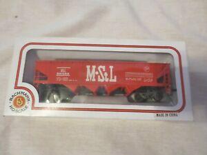 Bachmann HO Scale Missouri St Louis MSL 541085 Hopper Train Car Railroad