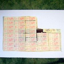 USA postage due 37 labels July 14, 1969 St. Cloud MN $329.30 lot ᵚ o0