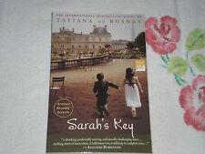 SARAH'S KEY by TATIANA DE ROSNAY   -ARC-  -JA-