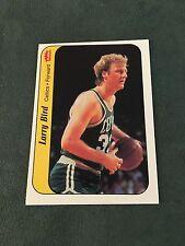 1986 Fleer Sticker Larry Bird #2 Boston Celtics Basketball Card