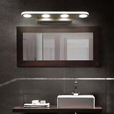 Modern Bathroom Front Mirror LED Lights Toilet Waterproof Wall Lamps Fixtures