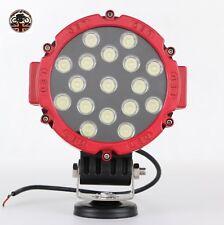 LAND Rover Defender Lavoro Luce Faretto Led 60W 4000 Lumen Lampada Rosso 4x4 12V 24V