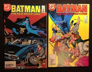 """BATMAN  #408-09 Jun/July 1987 """"Did Robin Die Tonight?"""" - """"Just Another..."""" 9.0"""