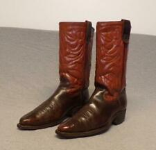 """Vintage Texas Special Western Cowboy Leather Riding boots mens size 7.5D """"Usa"""""""