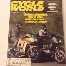 Cycle World Magazine BMW Vs Honda Bimota April 1985 061617nonrh