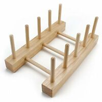 Professor Poplar's Wooden Puzzle Board Display Stand, Holds 4 Puzzles