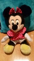 "Vintage DISNEYLAND Minnie Mouse Plush 12"" MFR-102"