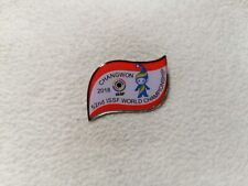 52nd ISSF Shooting World Championship Changwon South Korea 2018 pin