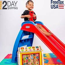 Little Tikes Foldable First Slide Indoor Outdoor Toddler Toy Younger Kids Strong