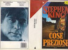 STEPHEN KING COSE PREZIOSE  SPERLING & KUPFER COLLANA PANDORA 1° EDIZIONE 1992