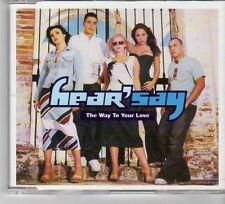 (FP265) Hear' Say, The Way To Your Love - 2001 DJ CD