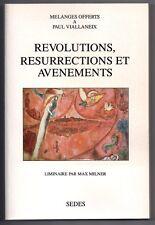 MELANGES A PAUL VIALLANEIX HISTOIRE LITTERATURE FRANCAISE REVOLUTIONS MICHELET