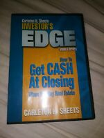 How To Get Cash At Closing ~ Investors Edge Video Library by Carleton H. Sheets
