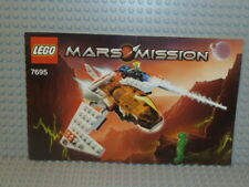 LEGO® Mars Mission Bauanleitung 7695 MX-11 Astro Fighter instruction B4497