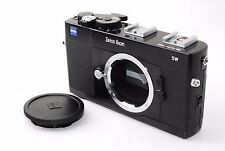 "Zeiss Ikon SW Super Wide 35mm Rangefinder Camera in Black ""Excellent++"" #0832"