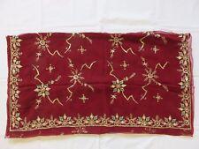 Wunderschöner alter Pailletten Sari Nr. 9014