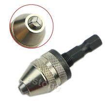 """1/4 """"Mèche 0.3mm-3.6mm Keyless Chuck Hex Shank adaptateur convertisseur"""