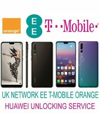 CODE DÉBLOCAGE UK EE TMOBILE ORANGE HUAWEI MATE 20 PRO MATE 20 LITE P20