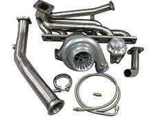CXRacing Top Mount T3 GT35 Turbo Kit Manifold Downpipe 92-98 BMW E36 325i 328i