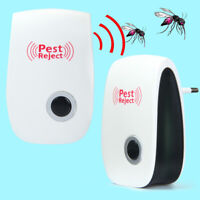 Ultrasonic Electric Anti Mice Spider Mosquito Cockroach Insect Pest Repeller