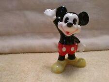 Disney Japan Mickey Mouse Ceramic Porcelain Figurine