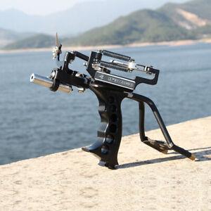Slingshot Hunting Fishing Heavy Duty High Velocity Catapult Laser Shoot Set Pro