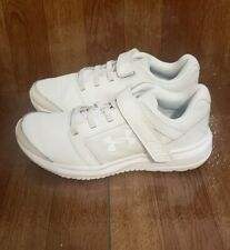 Girls Under Armour Uniform Shoes Size 13K White