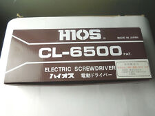 HIOS Screw Driver CL-6500 CL6500 New in box free ship