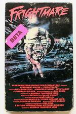 FRIGHTMARE ~ VESTRON BETA ~ 1980's Cult Horror Slasher ~ Slipcase ~ NOT VHS
