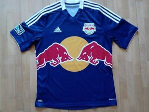 2012 Red Bull New York MLS USA Football Shirt Adidas 'L' Away Jersey