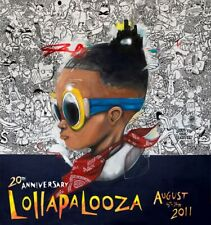 Lollapalooza - 2011 Hebru Brantley SIGNED and Numbered Edition Poster