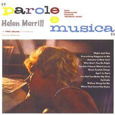 Helen Merrill - Parole E Musica ( CD - Album - Remasterd - Paper Sleeve )