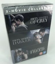 Fifty Shades of Grey/Darker/Freed DVD Trilogy 3 Movie Collection - New & Sealed