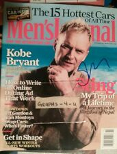 STING SIGNED THE POLICE AUTOGRAPH COA A