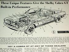 1968 MUSTANG SHELBY GT 500/350 ORIGINAL AD-302/427/428/v8 engine/block/head/svt