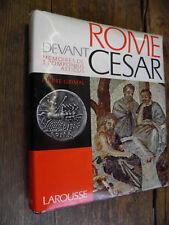 Rome devant César mémoires de Pomponius / Pierre Grimal
