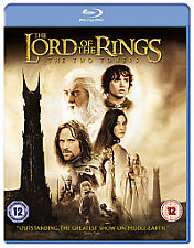 THE LORD OF THE RINGS THE TWO TOWERS-(BLU-RAY)-NEW&SEALED-ELIJAH WOOD