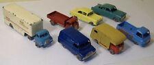 7 Matchbox - Bedford Articulated, Ford Zodiac,Vauxhall Victor, Morris J2, Erf, +