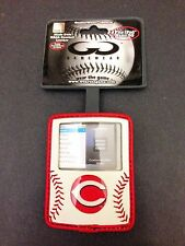 New Gamewear iSeam Cincinnati Reds Baseball Leather iPod Nano 3G Case