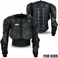 Kids Motorcycle Spine Protector Guard Jacket Motorbike Motocross Body Armour