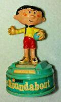 Vintage Rare Corgi The Magic Roundabout Basil Figure With Stand 865 1972