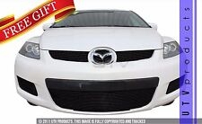 GTG 2007 - 2009 Mazda CX7 3PC Gloss Black Overlay Billet Grille Grill Kit
