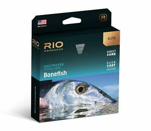RIO Elite Bonefish Fly Line - WF6F - Color Sand/Orange/Blue - New
