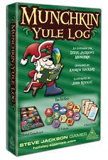 Munchkin Yule Log Christmas Holiday Board Booster Steve Jackson Games SJG 5592