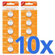 10x CR1620 Batterie Lithium Knopfzelle 3V CR162